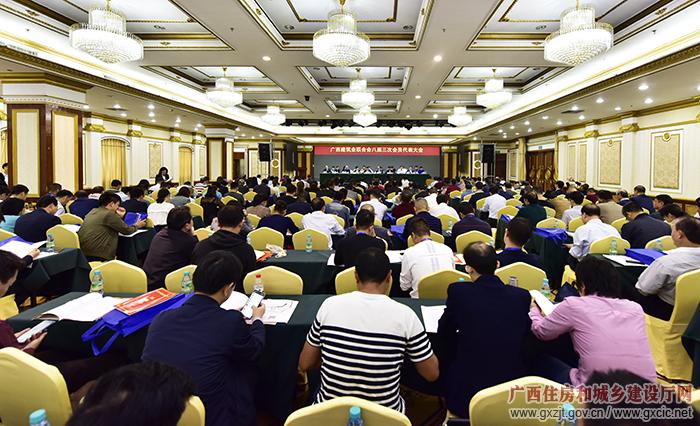广西建筑业联合会八届三次会员代表大会召开(组图)
