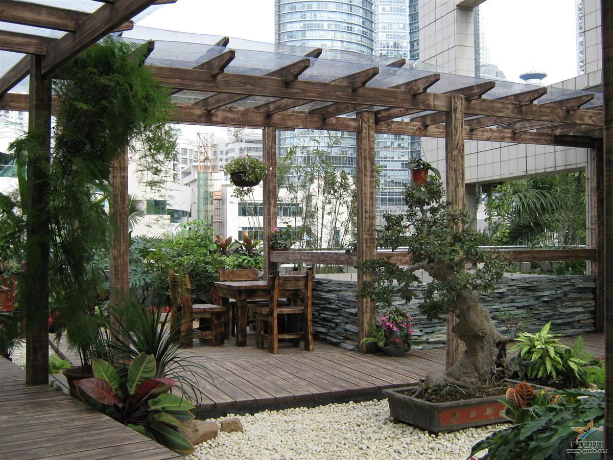 南宁市委办公楼屋顶花园工程(3) [点击率:8632]
