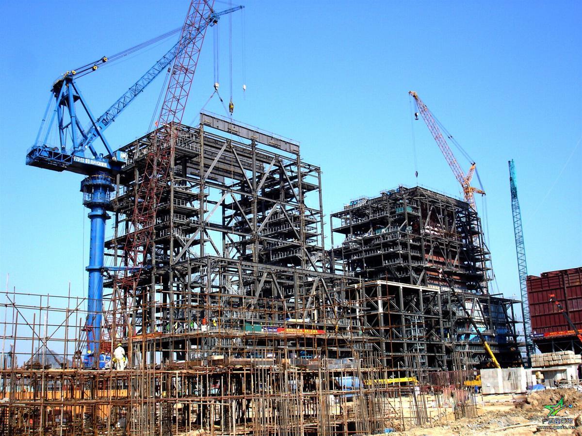 越南海防电厂1024吨锅炉,2300mw机组,循环水管及烟风煤管道制作