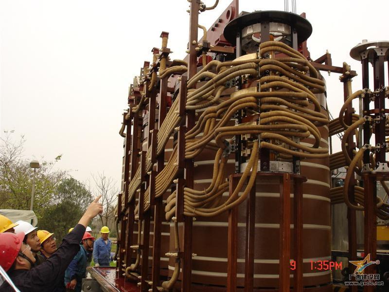 贵港110kvz电力主变压器大修工程项目图片 [点击率:10675]