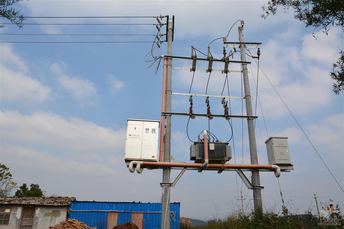 公司建设的农村电网改造工程台区