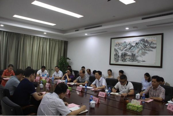 """我中心赴广西建工集团开展""""不忘初心,牢记使命""""专题调研活动"""