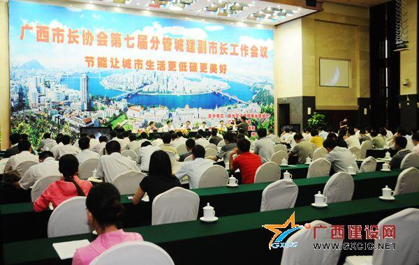 广西市长协会第七届分管城建副市长工作会议在柳州召开(组图)