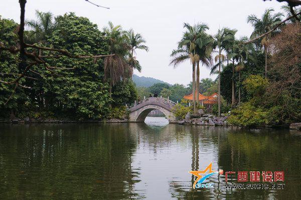南宁市金花茶公园,桂林市园林植物园,百色市百色起义纪念公园,梧州市