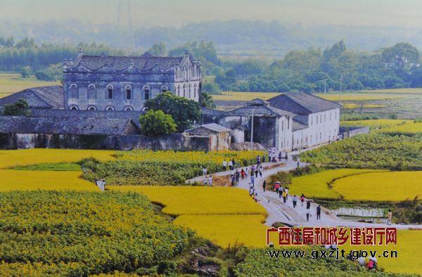 武宣县东乡镇下莲塘村(翻拍图片)