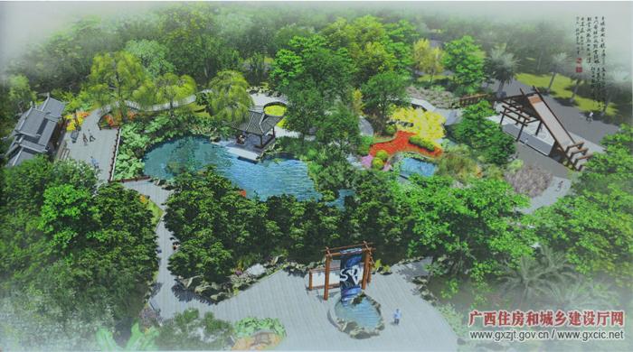 第六届广西园博会城市展园打造四大主题园区(组图)