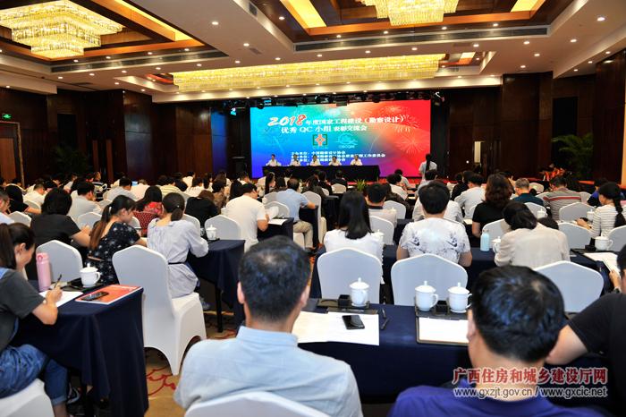 2018年度国家工程建设(勘察设计)优秀质量管理小组表彰交流会在南宁召开(组图)